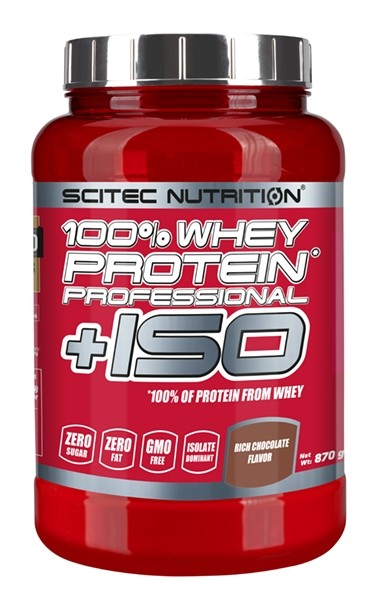 100% Whey Protein* Professional +ISO 870 g