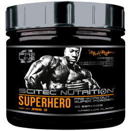 Superhero Pre–workout super pulver