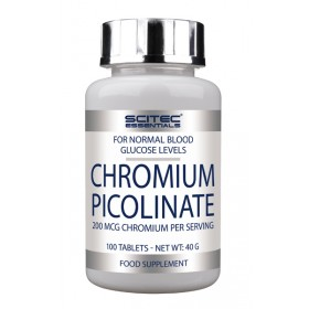 Chromium Picolinate 100 Tabletten